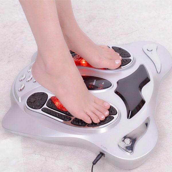Electric foot massager far infrared foot reflexology massage body slimming belt