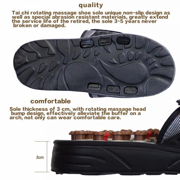 Massager shoes foot massage slippers elderly foot reflexology therapy