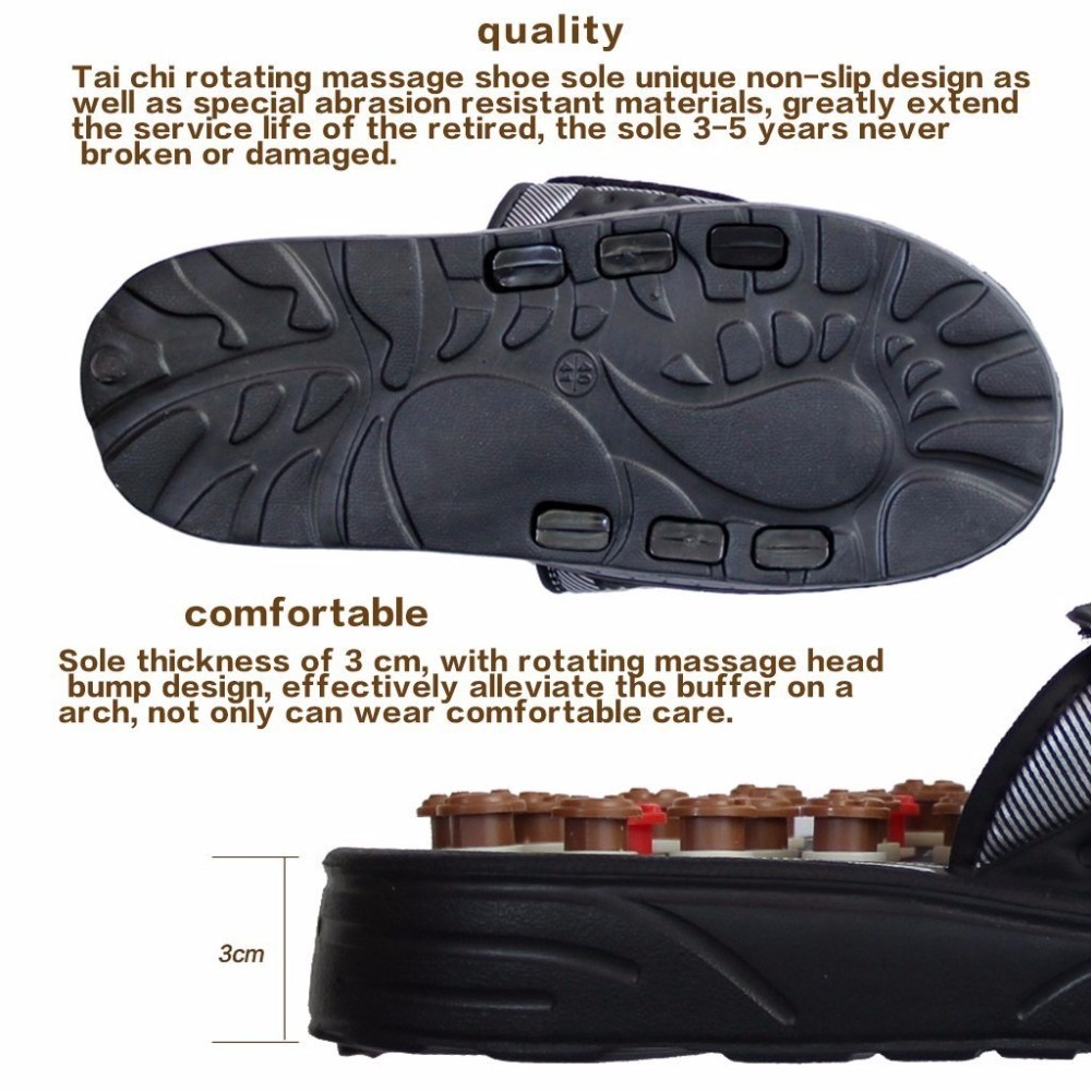 Massager shoes foot massage slippers elderly foot