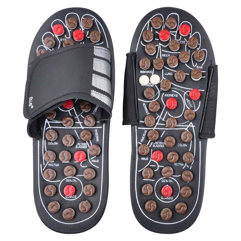 d86f382a033 Massager shoes foot massage slippers elderly foot reflexology therapy
