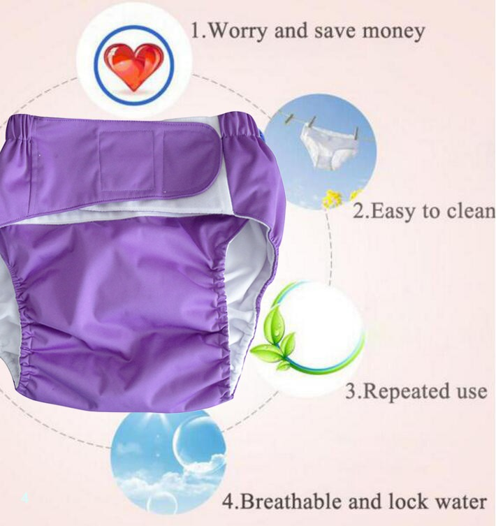 Dapers adjustable washable reusable waterproof for elderly or disabled