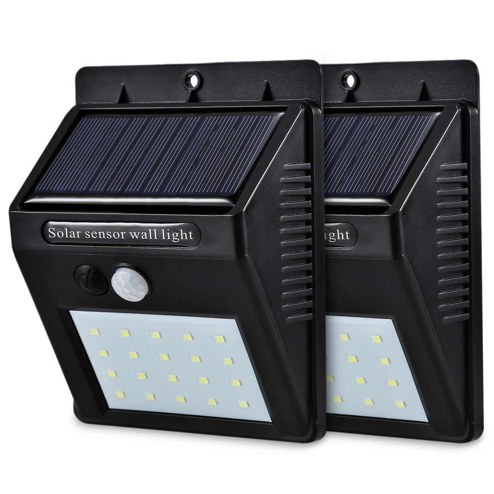 Led Solar Lights Motion Sensor Wall