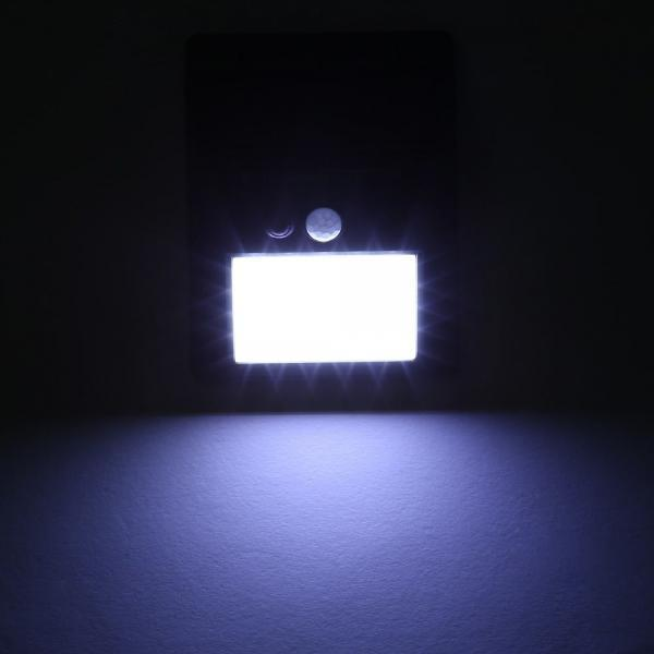 LED Solar Lights Motion Sensor Wall Mount Light Outdoor Waterproof