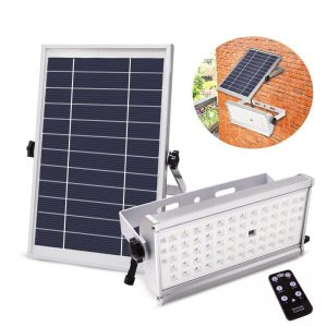Solar Light 65 LEDs Super Bright 1500lm 12W Outdoor Waterproof