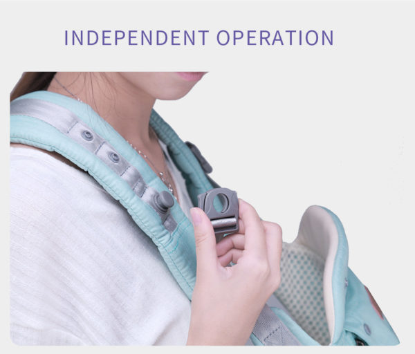 Baby carrying bag with multifunction pockets and seat belt