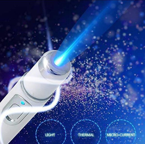 Blue light therapy for acne pimple wrinkle soft scar removal