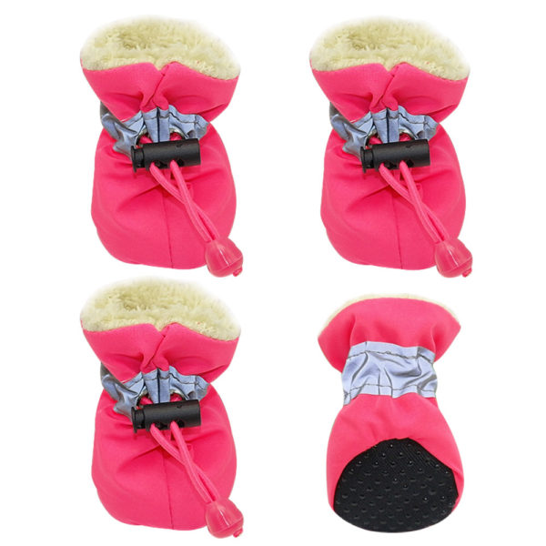 Dog shoes waterproof for winter small dogs and puppies