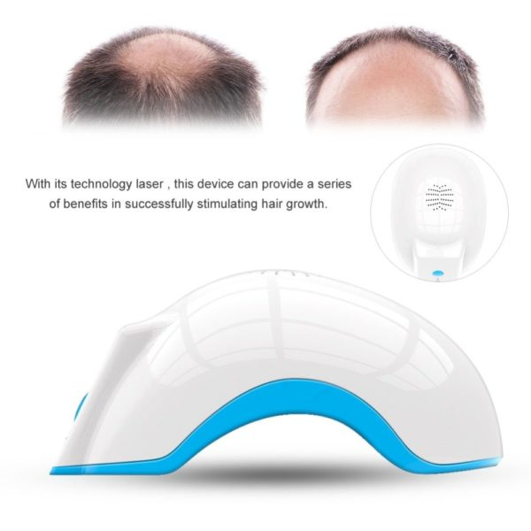 Laser hair growth helmet anti hair loss promote hair regrowth