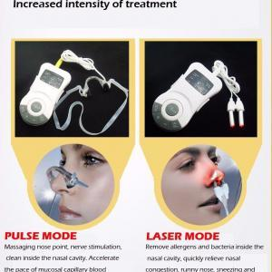 Snoring treatment low frequency rhinitis laser therapy