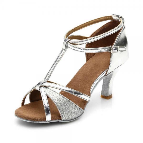 Women Latin dance shoes heeled 5cm or 7cm