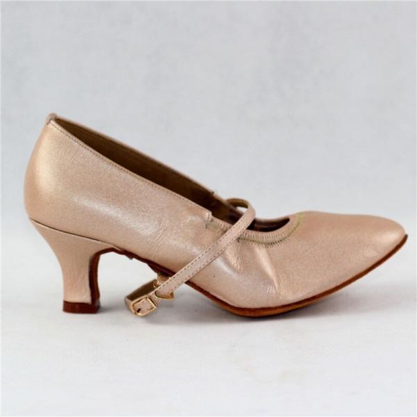 Women Standard Dance Shoes Pigskin Leather Soft Sole