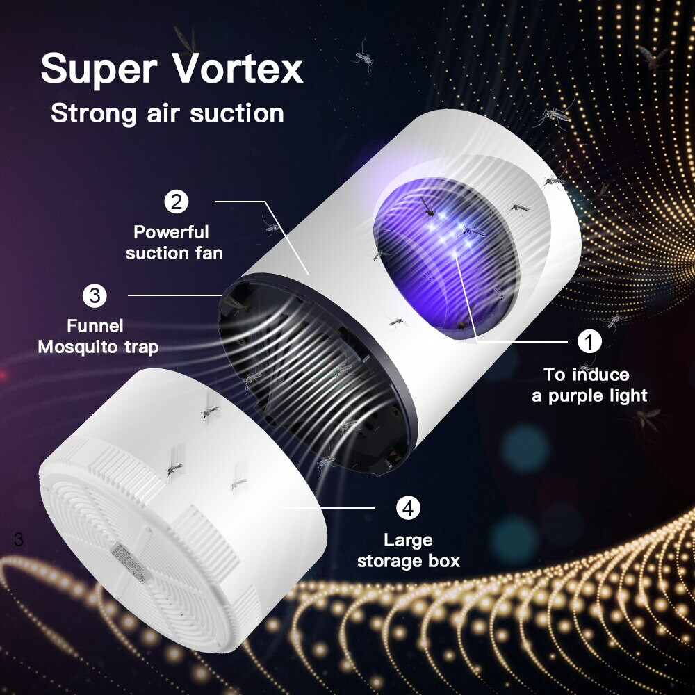 UV anti-mosquito light Suitable for office dormitory bedroom living room and hotel