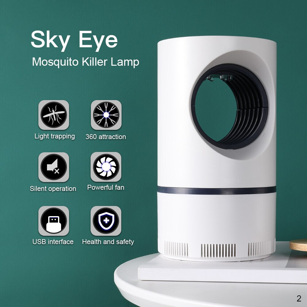 Mosquito killer UV light helps prevent dengue key features