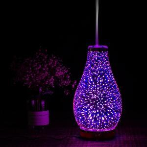 LED 3D aromatic humidifier night light mist