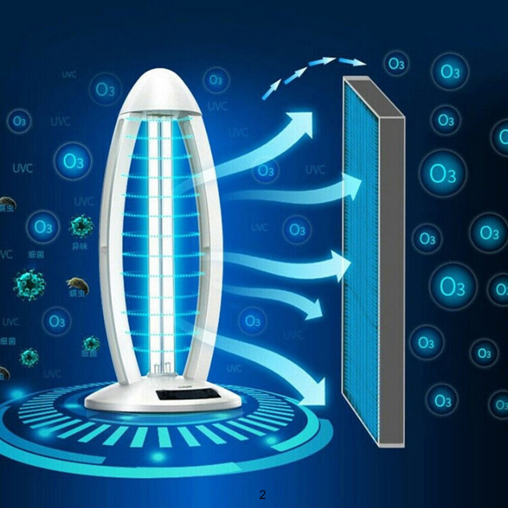 Ultraviolet Sterilizer Light Germicidal UVC Disinfection Lamp