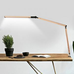Long arm LED lamp desk swing dimmable energy saving