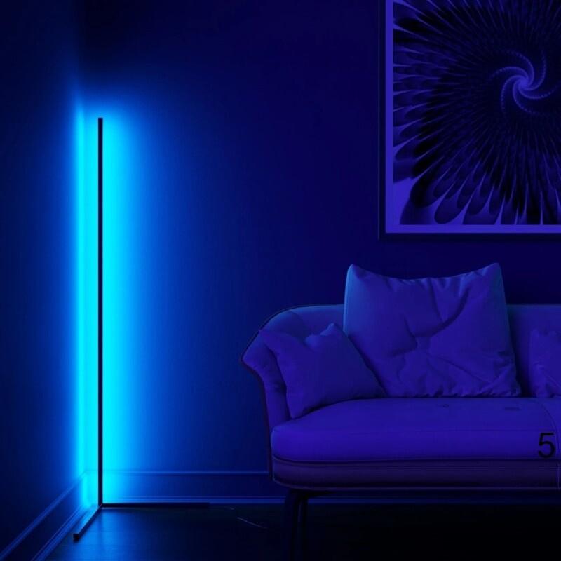 Blue color light