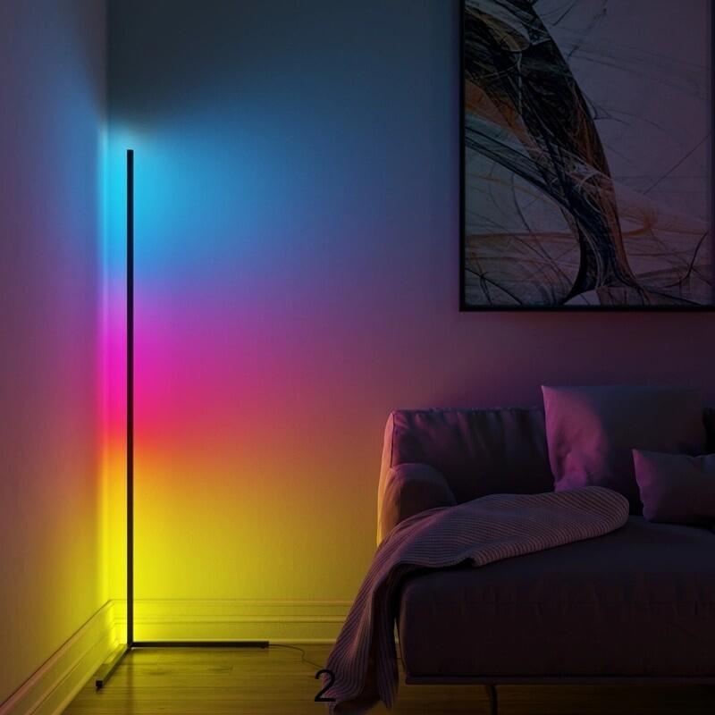 RGB colors of LED lamp