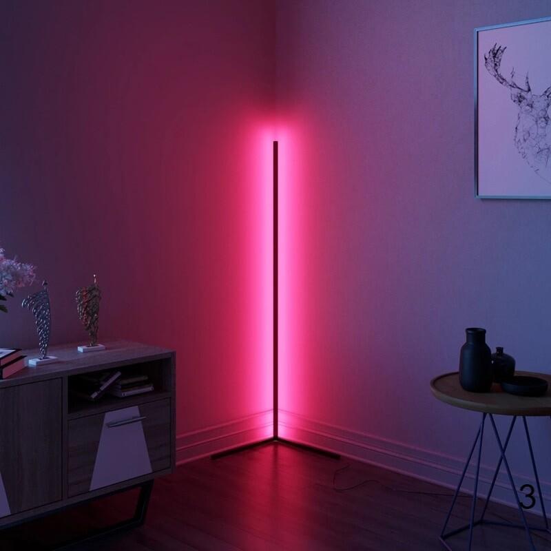 Pink color light