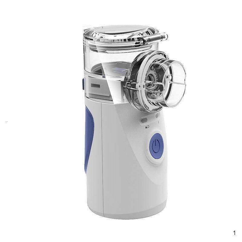 Respiratory therapy nebulizer ultrasonic rechargeable portable silent