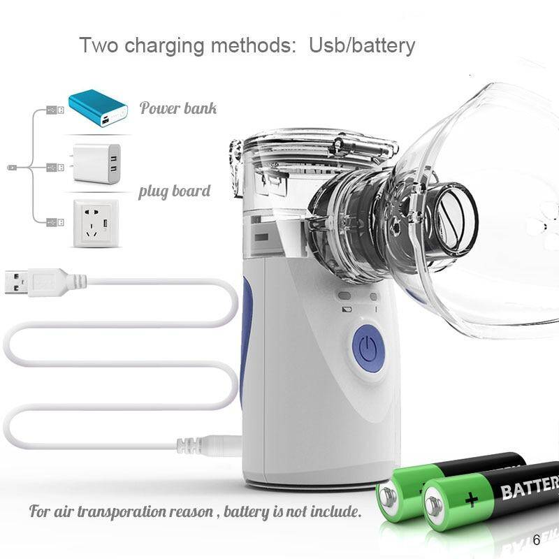 power up by USB or battery