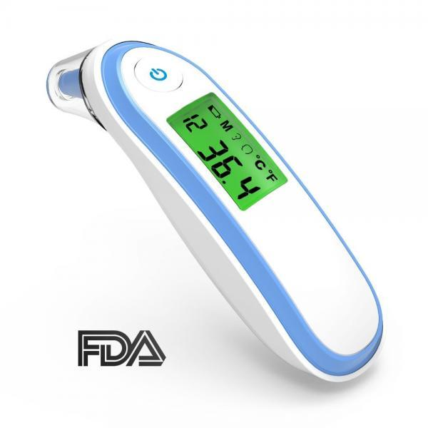Infrared digital thermometer non-contact forehead and ear thermometer