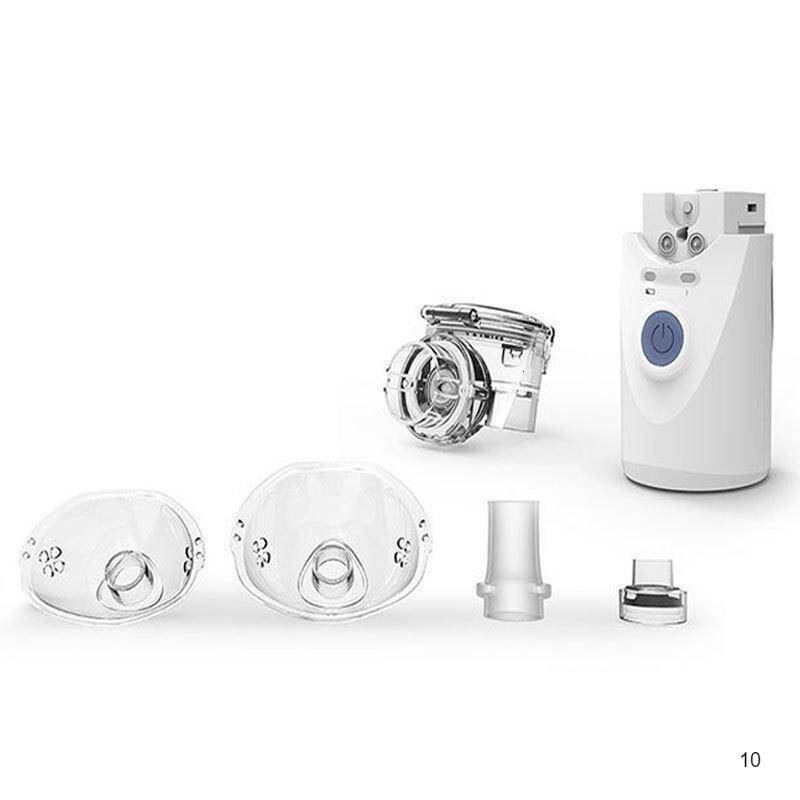 The parts, diffusers and the handheld nebulizer