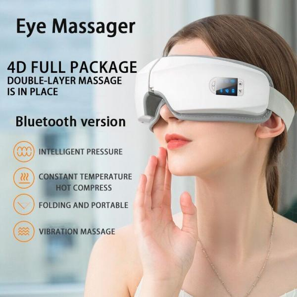 4D smart eye massager relieve fatigue remove dark circles