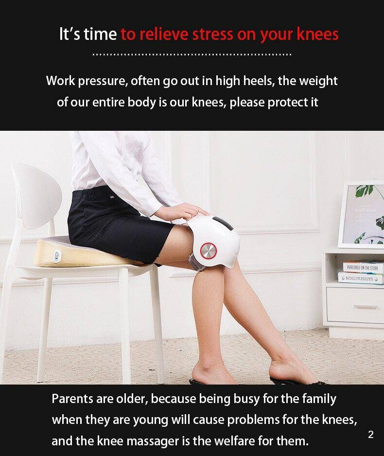 Laser knee massage knee pain relief physiotherapy device can help you