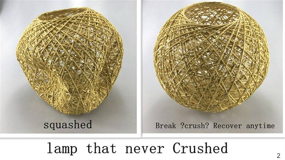 Lamps that never crushed