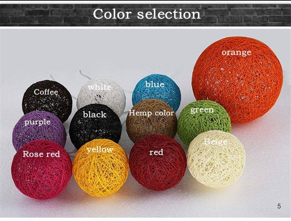 Wide variety of colors to choose of the rattan lampshade pendant Lights E27