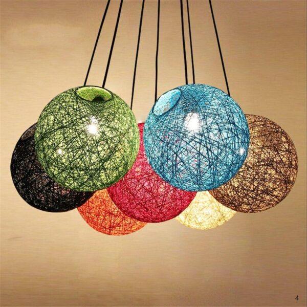 Spherical lantern pendant lamp E27 rattan lampshade pendant lights 30069-4aa71f.jpeg