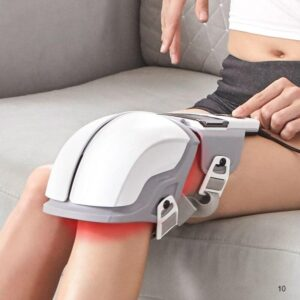 Knee joint massager hyperthermia pulse vibration 3 in 1 joint care