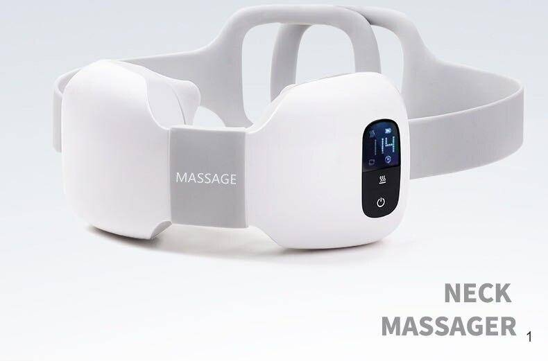Neck shoulder waist massager 4D smart heating wireless